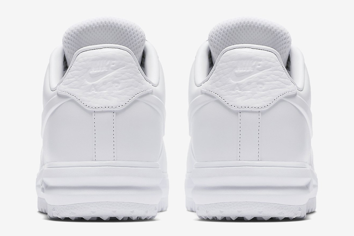 "Nike Lunar Force 1 Low Duckboot IBEX ""Triple White"""