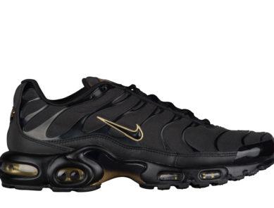 "Release Date: Nike Air Max Plus ""Black/Metallic Gold"""