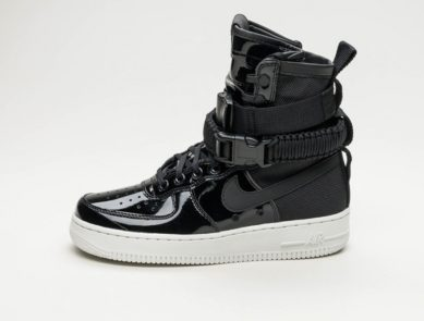 "Nike ""Force is Female"" Black Patent Pack"