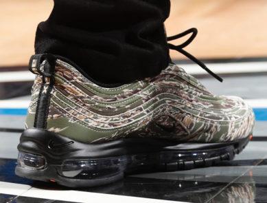 "Isaiah Thomas in ""Veterans Day"" Nike Air Max 97"
