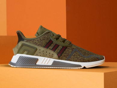 best service 50b04 b5487 adidas Originals EQT Cushion ADV in Olive Green for