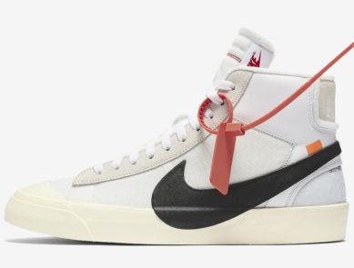 Nike SB Blazer Mid x Off-White