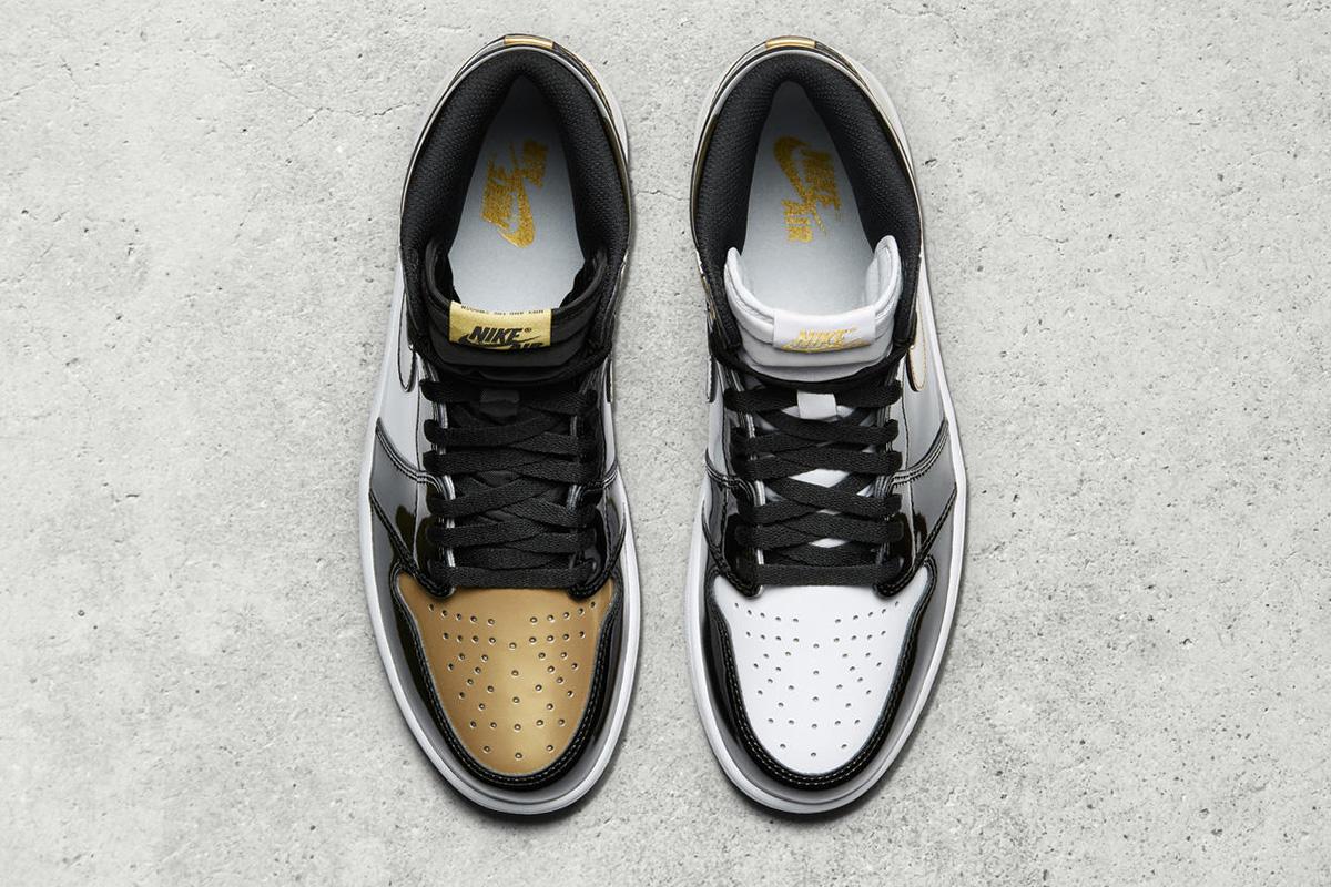 "Air Jordan 1 Retro High OG ""Top 3 Gold"""