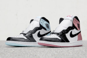 Air Jordan 1 Retro High OG in South Beach Colors