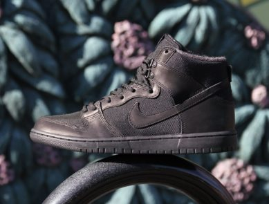 Nike SB Zoom Dunk High Pro BOTA Drops in All-Black