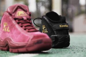 "Kinetics x FILA 96 GL ""Velour"" Pack"