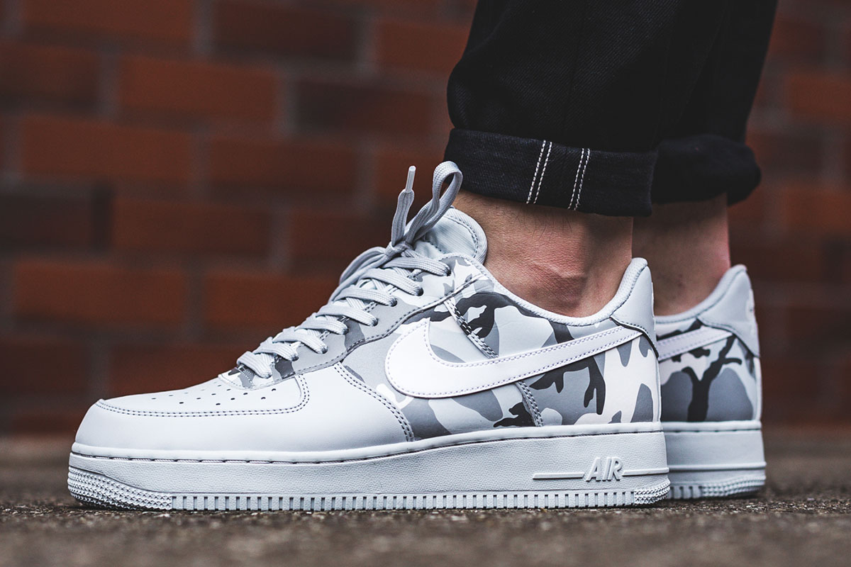 "Nike Air Force 1 '07 LV8 ""Pure Platinum Camo"""
