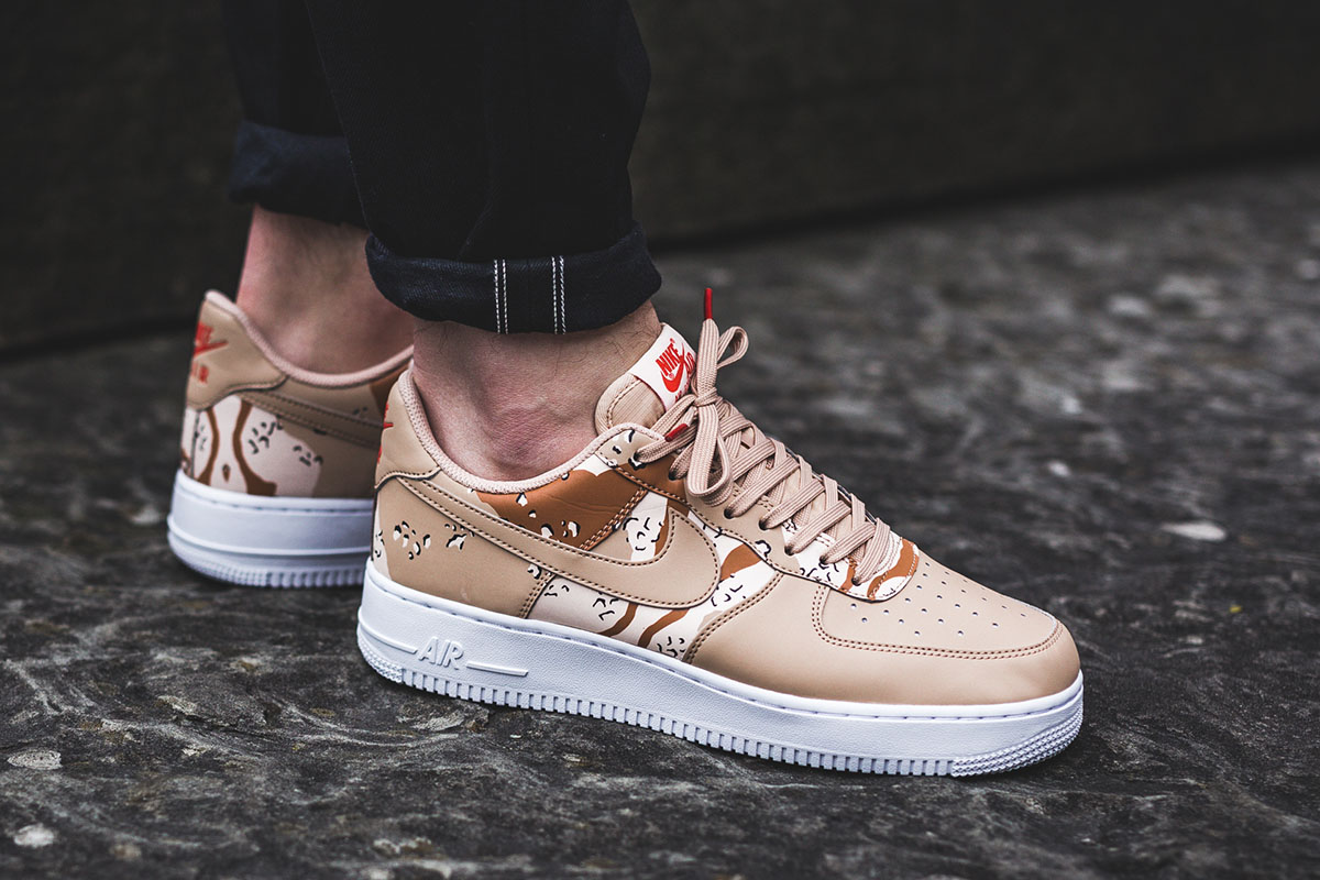 "Nike Air Force 1 '07 LV8 ""Bio Beige Camo"""