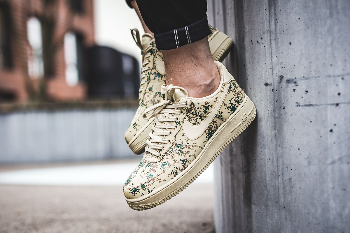 "Nike Air Force 1 '07 LV8 ""Team Gold/Golden Beige Camo"""