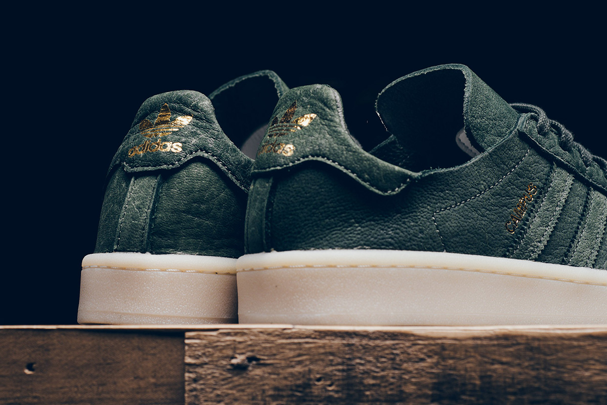 """Crafted"" adidas Campus in C.F. Stead Suede"