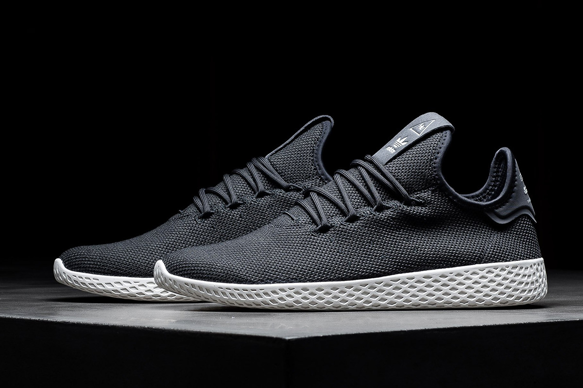 Pharrell x adidas Tennis HU  in Muted & Sophisticated Form