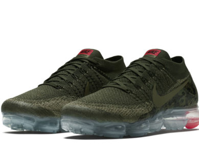 "Nike Air VaporMax Flyknit ""Camo"" Detailed Pictures"