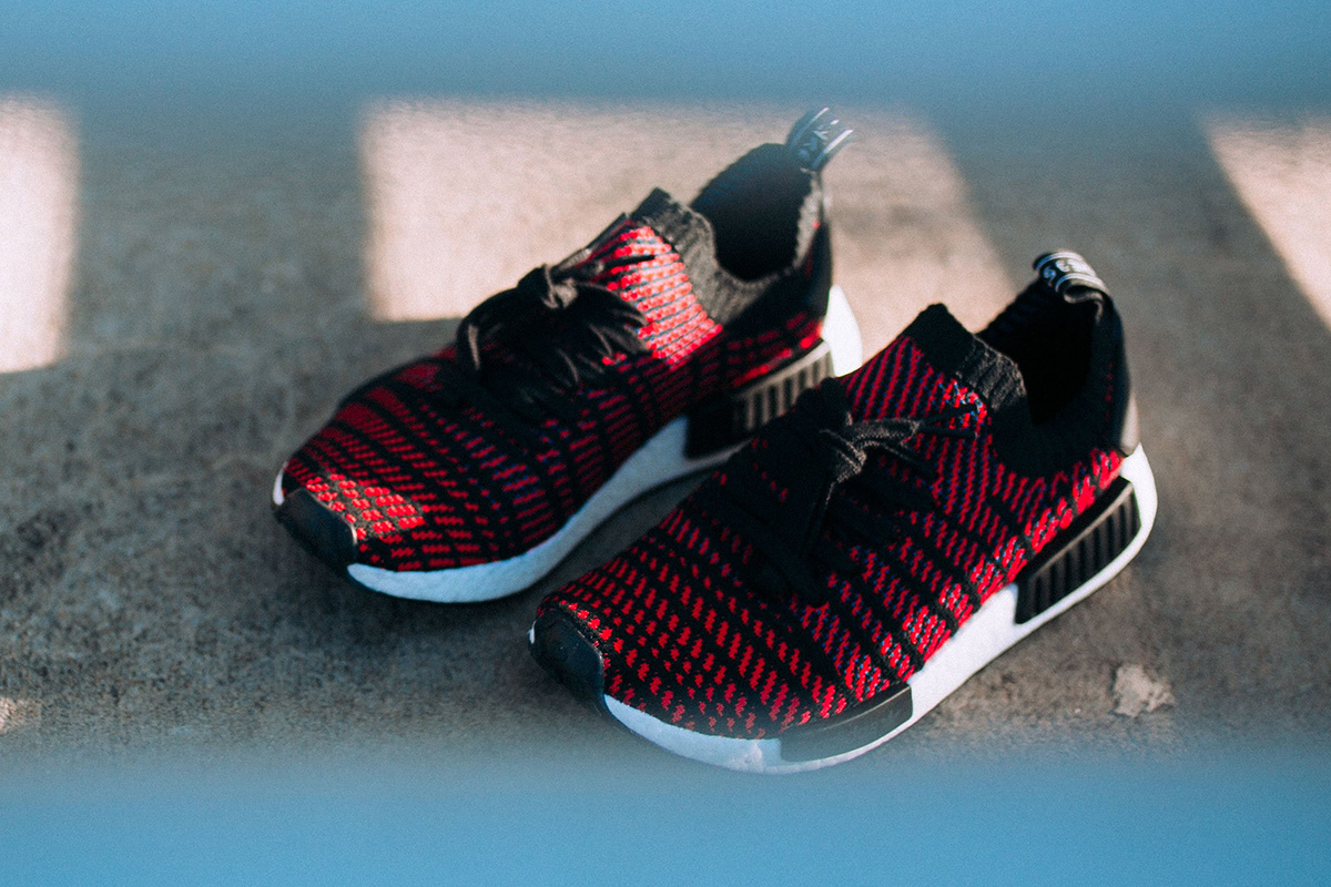 "adidas NMD R1 Stealth PK ""Red/Black"""