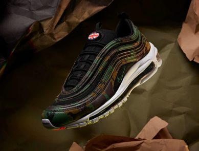 "huge selection of 2233a 92889 Nike Air Max 97 Premium QS ""United Kingdom"" (Country Camo Pack) Detailed  Pictures"
