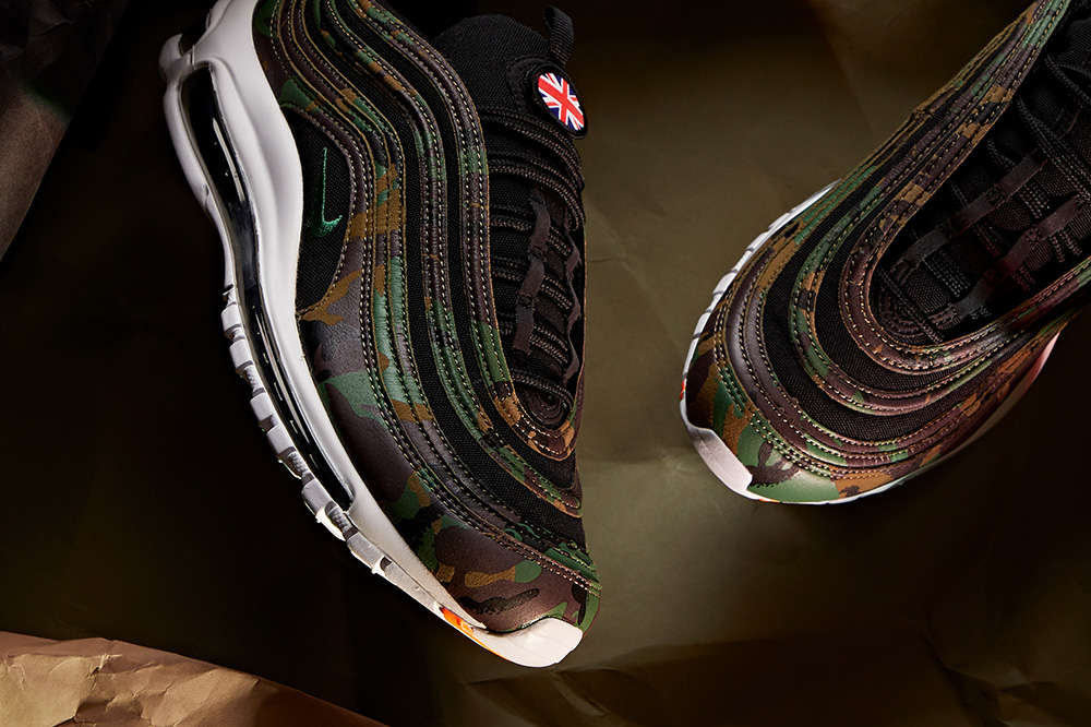"""Nike Air Max 97 """"United Kingdom"""" (Country Camo Pack) Detailed Pictures"""