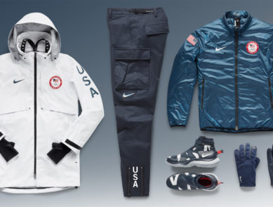 Nike Team USA Medal Stand Collection for 2018 PyeongChang Winter Olympics
