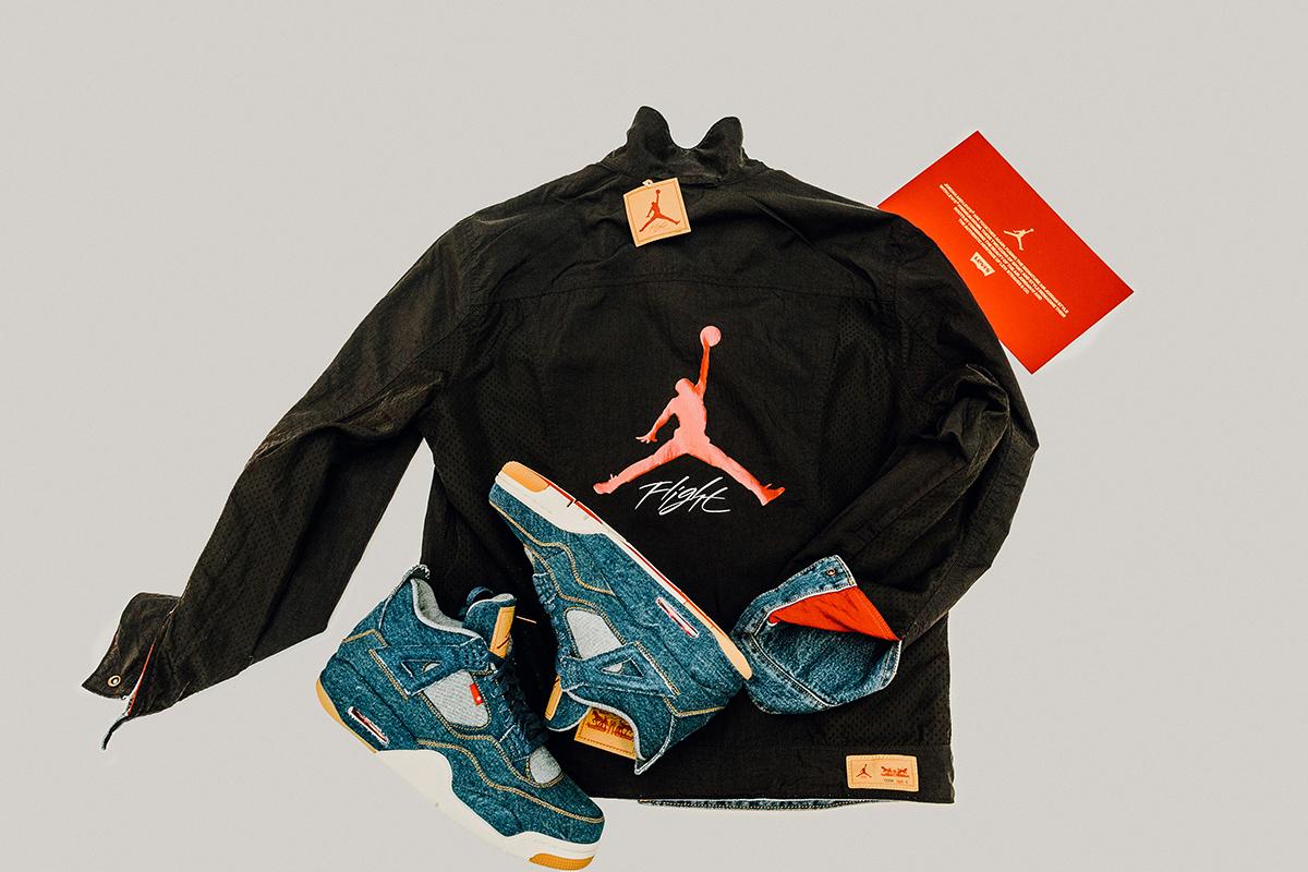 Jordan Brand x Levi's: Trucker Jacket & Air Jordan 4 Retro