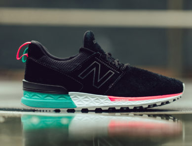 New Balance 574 Sports Dressed in South Beach Colors