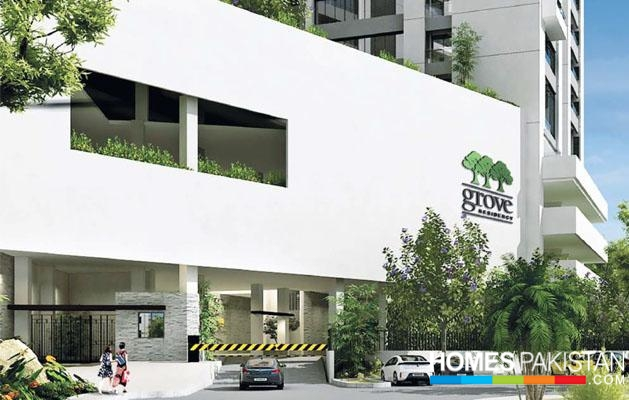 Grove Residency by Dolmen Group