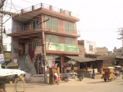 2.5 Marla 3 Storey Excellent Plaza For Sale on Sheikhupura Lahore Road