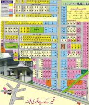 3 Marla plot for sale in Model Town Khurrianwala Faisalabad