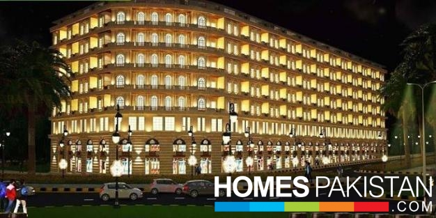 980 Sq Ft Apartment Bahria Enclave For Dale
