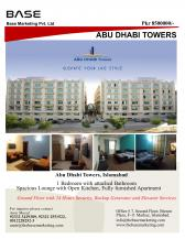 Apartment For Sale In Abu Dhabi Towers, Islamabad