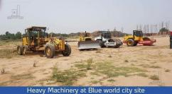 Blue World City 8 Marla Plot For Sale