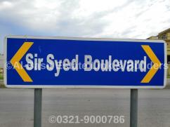 1000 Sq Yards Plot For Sale at SIR SYED BOULEVARD SECTOR E DHA Phase_II Islamabad