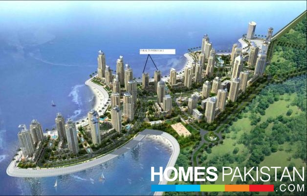 Facing Sea 2042 Sq Ft 2 Bedrooms Luxury Apartment For Sale