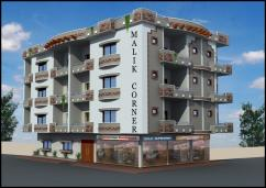 Corner 1300 Sq Ft 3 Bedrooms Super Luxury Lower Portion Apartment For Sale