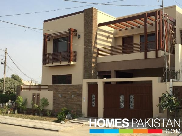 Front Elevation Of 120 Sq Yards House : Sq yard bedroom s house for sale homespakistan
