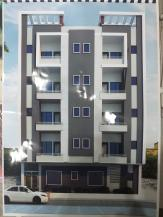 2 Bed dd Flat on booking At Karachi University Society