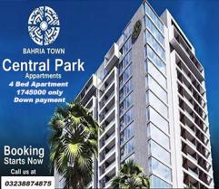 APARTMENT AVAILABLE IN BAHRIA CENTRAL PARK APARTMENT