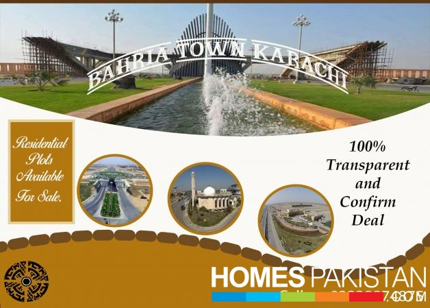 AMAZING OFFER RESIDENTIAL PLOTS AVAILABLE FOR SALE IN PRECINCT 30 BAHRIA TOWN KARACHI