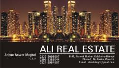 All kind of houses flats shops available for sale in Goher Green City.
