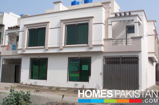3 Marla 3 Bedroom Brand New American Model Homes For Sale In Ali View  Garden Phase