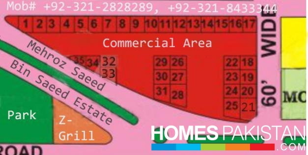 4.66 Marla Prime Location Commercial Plot For Sale