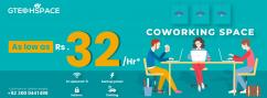 Ideal Shared Office Space for Freelancers and Startups at Best Price.