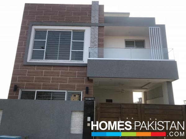 5 Marla Brand New Modern Double Story House For Sale