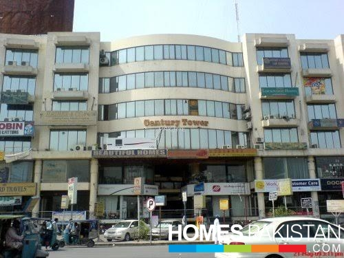 1000 Sq Ft Office For Sale At 4th Floor Century Tower Kalma Chowk Lahore