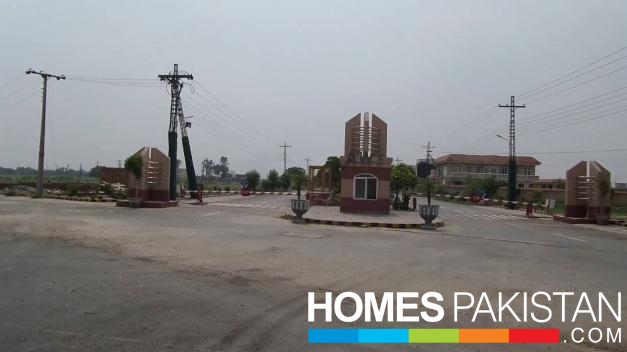 2 Kanal Residential Plot For Sale In AWT Society Lahore