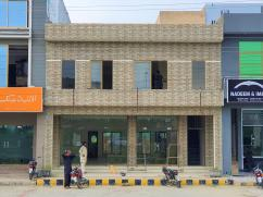 8 Marla Double Storey Commercial Plaza In A Block At 150 Ft Main Boulevard Central Park