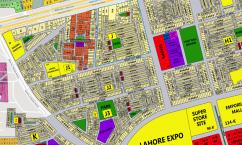 12 Marla Residential Plot Is Available For Sale in Johar town Lahore.