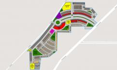 On Down payment 3 Marla Plot Available for Sale in West Marina