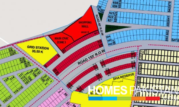 4-Marla Commercial Plot For Sale DHA Phase 9 Prism - Zone 3