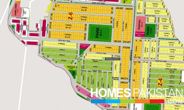 DHA Lahore Phase 8 IVY  5 Marla Plot For Sale