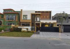 1 Kanal Double Storey House For Sale In N block On 60 Feet Road, Izmir Town, Lahore.