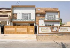 1 Kanal Brand New Modern House For Sale In Wapda Town, Lahore.