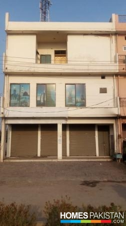 Three Floor Building For Rent